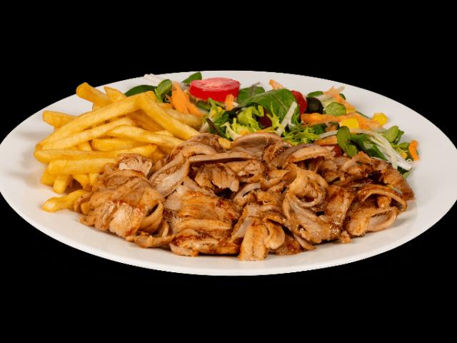 Assiette kebab Royal